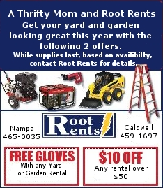 Equipment rentals in Caldwell & Nampa ID
