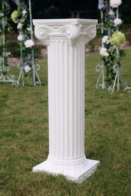 Where to find GREEK COLUMN 40   WHITE in Caldwell