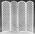 Rental store for BACKDROP, 7X10 LATTICE - WHITE in Caldwell ID