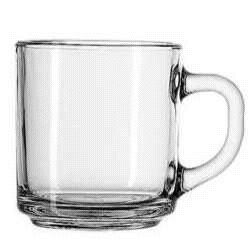 Where to find COFFEE MUG 10oz   CLEAR GLASS in Caldwell