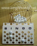 Rental store for BINGO CAGE  W BALLS   MASTER BOARD in Caldwell ID
