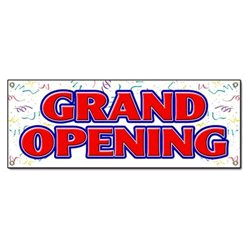 Where to find BANNER, GRAND OPENING in Caldwell