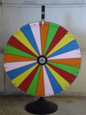 Where to find SPIN PRIZE WHEEL in Caldwell
