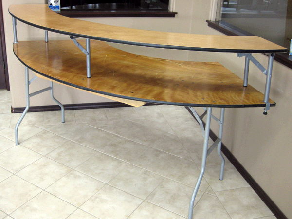 Where to find BAR TOP  FOR SERPENTINE TABLE in Caldwell