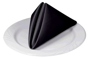 Where to find LINEN, BLACK -NAPKIN- 17X17 in Caldwell
