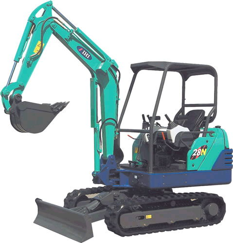 Where to rent MINI EXCAVATOR  28N  IHI in Caldwell ID and Nampa ID