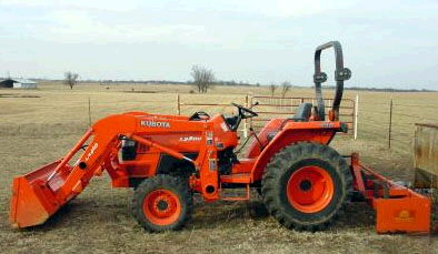 Where to find TRACTOR, 30HP KUBOTA in Caldwell