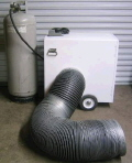 Rental store for HEATER DUCTING FOR 80 BTU TENT STYLE in Caldwell ID