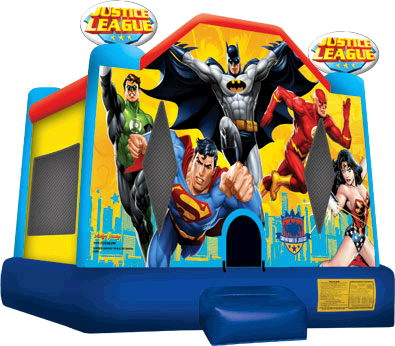 Where to find JUMP, JUSTICE LEAGUE in Caldwell