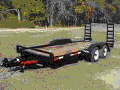 Rental store for TRAILER, FLATBED 7X20 DOVE in Caldwell ID
