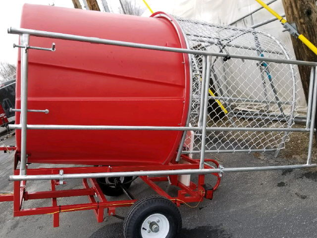 Where to find DUNK TANK  WITH TRAILER RED in Caldwell