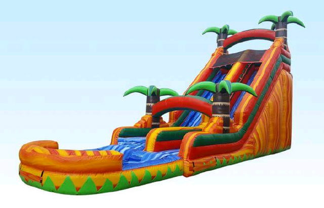 Where to find JUMP,TROPICAL PARADISE SLIDE POOL 22 in Caldwell